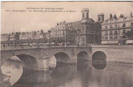 Cp , 25 , BESANÇON , Le Doubs, Pont Battant, LesQuais - Besancon