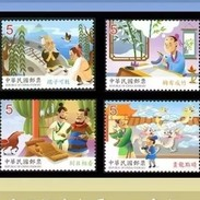2017 Chinese Idiom Stories Stamps Fairy Tale Bridge Horse Bamboo Pen Bird Martial Book Dragon Temple Costume Famous