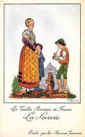 [DC10021] CPA - LES VIEILLES PROVINCES DE FRANCE EDITE PAR LES FARINES JAMMEL FIRMATA DROI LA SAVOIE - NV - Old Postcard - Droit