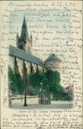 AK Königsberg Kaliningrad, Schloss (Westseite), O 1905 (23503) - Ostpreussen