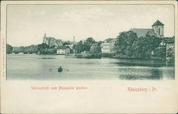 AK Königsberg Kaliningrad, Schlossteich Vom Münzplatz Gesehen, O Um 1900 (23509) - Ostpreussen