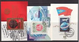 Sowjetunion , Block 123 + 141 + 161 , O    (3686)