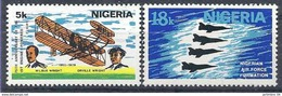 1978 NIGERIA 363-64**  Frères Wright,  Avions - Nigeria (1961-...)
