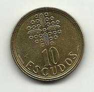 1996 - Portogallo 10 Escudos, - Portogallo