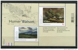 Canada ** -  Bloc 76 - Peintre Homer  Wattson - Peinture