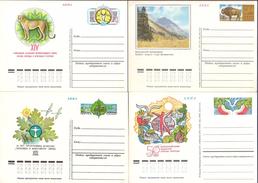 Sowjetunion , 4 Ver. GS-Postkarten, Ungebraucht , Xx   (3562)