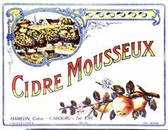#& Etiquette Cidre Mousseux - Hamelin - Cabourg - Other