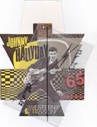 Lot De 2 Etiquettes :Johnny Hallyday WESTERN PASSION - Merchandising