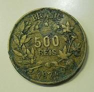 Brazil 500 Reis 1924 - Brasil