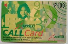 Philippines Phonecard Eastern 100 Pesos 320PETA