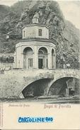 Emilia Romagna-bologna-porretta Bagni Di Porretta Madonna Del Ponte Veduta Primi 900 - Autres Villes