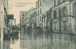 92 - Billancourt - Inondations De Paris - Janvier 1910 - Rue Michelet - Boulogne Billancourt