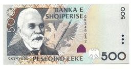 Albania - 500 Leke 2007, - Albania