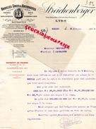 69 - LYON - FACTURE STREICHENBERGER- HOUILLES COKES ANTHRACITES- PLACE BELLECOUR ET 4 RUE DEUX MAISONS- 1912 - France