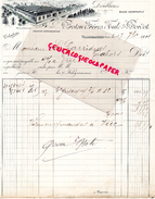 69 - VILLEFRANCHE- BELLE FACTURE PROTON FRERES-JOUTE BORDET- A M. GARRIGUES CAHORS - 1901 - France