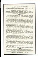2465 SIMONE MILLEVILLE - IEPER + 1959 - Images Religieuses