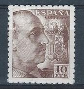 ES934STV-LTV***934STMIL.Spain.Esgane .Militar,politico.FRANCO Sanchez Toda.Dentado Grueso.1939.(Ed 934**) - Militares