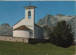 Fex-Kirchli (Oberengadin) Mit Piz Lagrev - Stempel: Sils/Seglmaria - Photo: Furter No. 21-112 - GR Grisons