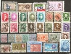 33 Timbres De Perse / Iran - Iran