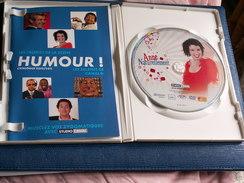 DVD  ANNE  ROUMANOFF  - Pochette Dédicace Originale - Durée 1h.28 - Couleur - DVDs