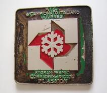 JUVENES SCI GIORNALE CORRIERE DEI PICCOLI BISCOTTI PLASMON BERTONI MILANO   SPORT  Sci Ski PINS PIN'S - Sports D'hiver