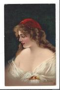 16761 - Elégante Femme Signée M.Marco Publicité Chicorée Arlatte - Illustrateurs & Photographes