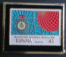 PIN DEL SERVICIO FILATÉLICO. EXPO SEVILLA 92. - Correo