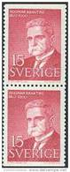 ZWEDEN 1960 15õre H.Branting Paar PF-MNH