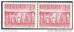 ZWEDEN 1960 15õre 100 Jaar Schutterij Paar PF-MNH