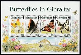 GIBRALTAR 1997 - Papillons - Yv BF26 ** - Gibraltar