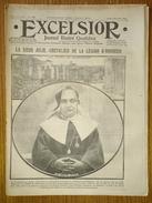 Excelsior N°1483 07/12/1914 - La Soeur Julie - Généraux Dubail Et Langle De Cary - Champigny - Gourbis - Belgique - Newspapers