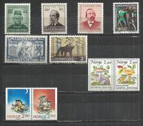 TEN AT A TIME - LUXEMBOURG AND NORWAY - LOT OF 10 DIFFERENT - MNH MINT NEUF NUEVO - Luxembourg