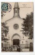PARIS  13ème--Eglise Du Boulevard De L'Hôpital (très Animée)n°7 éd ??--Beau Cachet PARIS  113 (4ème Arr) - Distrito: 13