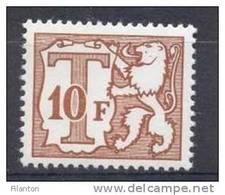 BELGIE - OBP Nr TX 82 (P5a Epacar) - Strafportzegels - Timbres Taxes - MNH** - Cote 1,00 €