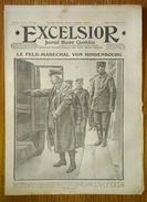 Excelsior N°1479 03/12/1914 Le Feld-maréchal Von Hindenbourg - Une Batterie De 75 En Position - Belgique - Journaux - Quotidiens
