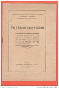 San Giorgio A Cremano NAPOLI Comitato Assistenza Reduci Di Guerra 1919 - Libri, Riviste & Cataloghi