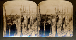 Milan, Spines Cathedral, R.Y Young, American Stereoscopic Company - Stereoscoop