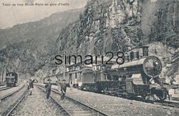 ISELLE - N° 3694 - TRAIN DE LUXE MILAN PARIS EN GARE D'ISELLE (CHEMIN DE FER) - Italie