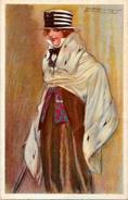 CPA MAUZAN Art Déco Femme Girl Woman écrite Illustrateur Italien Italie 278-? - Mauzan, L.A.