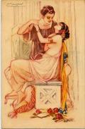 CPA MAUZAN Art Déco Femme Girl Woman Non Circulé Illustrateur Italien Italie érotisme 248-5 - Mauzan, L.A.