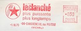 """Electricité, Pile, Puissance, """"Leclanché"""", Chasseneuil Du Poitou  - EMA Havas CG - Enveloppe Entière  (S051) - Technical"""