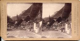 Meiringen, Switserland, P.B. View Of The Village - Stereoscopic