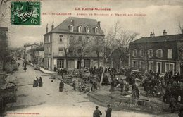 SAINT GAUDENS AVENUE DE BOULOGNE ET MARCHE AUX COCHONS - Saint Gaudens