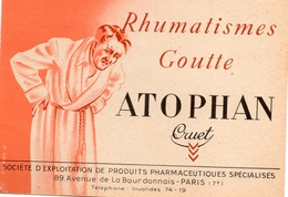 Santé, Maladie, Traitement, Rhumatisme, Goutte  - EMA Havas G - Carte Publicitaire  (S053) - Technical