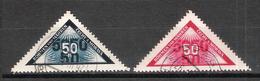 Bohême Et Moravie N° 38 Et 38A Oblitérés Gommés - Böhmen Und Mähren