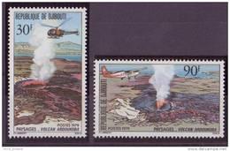 DJIBOUTI N° 497/98** NEUF SANS CHARNIERE VOLCAN - Djibouti (1977-...)