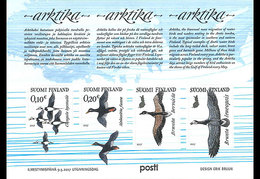 Finland - Postfris / MNH - Sheet Arktika 2017