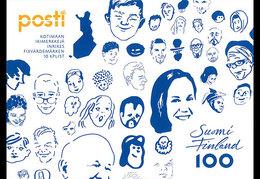 Finland - Postfris / MNH - Booklet Gezicht Van Finland 2017