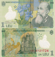 Romania 1 Leu (2013) - Polymer/Monestary Unc - Roemenië
