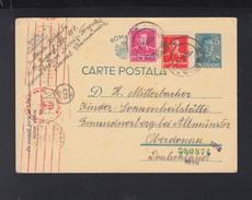 Romania Stationery 1942 Periam To Germany - Storia Postale Seconda Guerra Mondiale